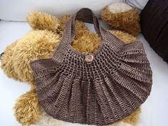 crochet bag   japanese pattern, out of print  via Ravelry