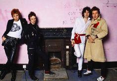 The Clash, Camden, Londra, 1979, di Sheila Rock (Copyright Sheila Rock/Rockarchive.com)