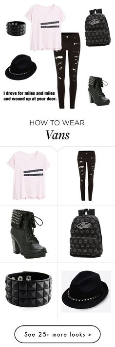 """untitled #8"" by royal-unicorn on Polyvore featuring River Island, MANGO, Vans and Valentino (Cool Teen Shirts)"