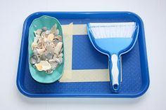 Our Country Road: Summer Fun Montessori Trays SO many wonderful tray ideas!!!