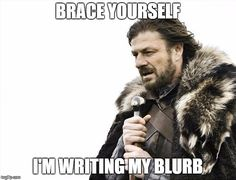 Brace yourself. I'm writing my blurb for my upcoming dystopian thriller, Carbon Run. #writing #books #scifi