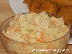 Absolut Delicios - Retete culinare: SALATA COLESLAW Romanian Food, 30 Minute Meals, Coleslaw, Quick Easy Meals, Potato Salad, Salad Recipes, Cookie Recipes, Breakfast Recipes, Vegetarian Recipes