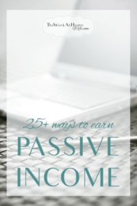 Great list of passive income ideas