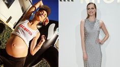 Bar Refaeli Poses in Lingerie Less Than 6 Weeks After Giving Birth -- See the…