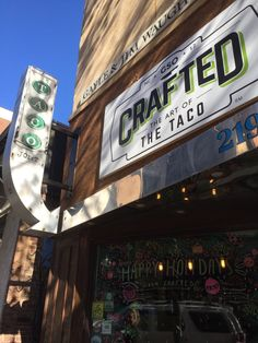 Crafted – The Art of the Taco in Downtown Greensboro North Carolina