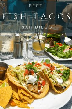 Here is where to find the best fish tacos in San Diego from upscale to take-out in restaurants located all over town. The best is definitely. Old Town San Diego, San Diego Food, San Diego Houses, California Food, Southern California, California Travel, Visit California, California Quotes, California Burrito