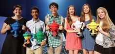 We can't believe the finalists in the Google Science Fair are all teenagers, but they've each created projects so remarkable, we felt like they were more than deserving of our time today. There was only one official Grand Prize awarded, but they were all super-interesting projects each entrant should be immensely proud of. Here's the full photo of the winners from this year's event: