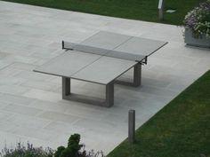James De Wulf Concrete Ping Pong & Dining Table | 2Modern Furniture & Lighting