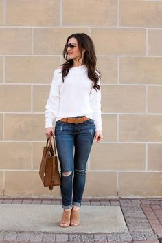 Booties outfit, sandals outfit, chunky necklace outfit, first date outfits, Casual Work Outfits, Casual Fall Outfits, Winter Fashion Outfits, Look Fashion, Chic Outfits, Spring Outfits, Casual Wear, Autumn Fashion, Womens Fashion