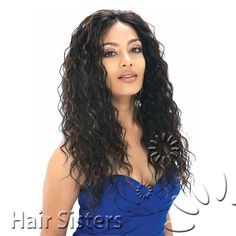 Model Model Synthetic Natural Hair Lace Front Wig Super Diva