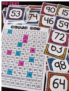 Directions for a TON of great number sense activities for first grade and kindergarten