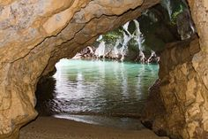 Let's go to Hawaii - the Magical Tropical Hawaiian Islands - Secret Cave, Kauai, Hawaii