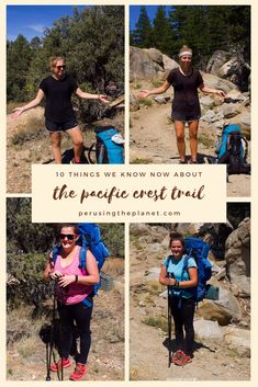 You need to know these 10 facts before your Pacific Crest Trail hike. Read these surprising facts before you embark on your PCT thru hike. Thru Hiking, Go Hiking, Hiking Tips, Hiking Gear, Pct Trail, Appalachian Trail, Pacific Crest Trail, Pacific Coast, West Coast