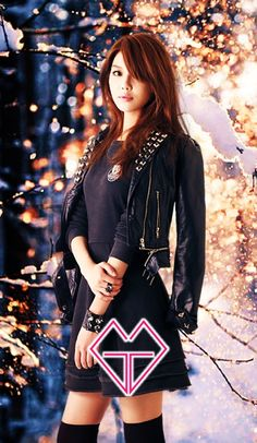 SNSD - Choi SooYoung (self edited phone wallpaper)