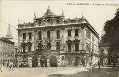 Teatro São Pedro Alcântara, década de 1920 - RJ.
