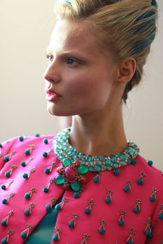 OSCAR DE LA RENTA SPRING 2013 - PHOTO BY RACHEL SCROGGINS/ thegreyestghost.wordpress.com #odlrlive