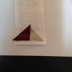 Coser y Coser Patchwork: Tutorial Vuelo de la Oca. Paper Piecing, Triangle, Patches, Diy, Blog Designs, Ideas, Quilting Patterns, Little Things, Quilts