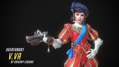 Overwatch Dva - fan skin (Pilot) Hi! Overwatch, Dva Mech, Low Poly Models, Princess Zelda, Disney Princess, Geek Culture, Beaded Embroidery, Pilot, Disney Characters