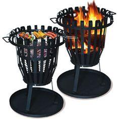 Barbecue brasero rond