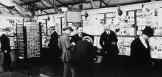 Instagram circa 1925. Physicians browse radiology #photos at #ClevelandClinic. #tbt #socialmedia