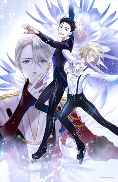 Yuri on ice- very good hint of yaoi but not ( more romance in the bromance) - Yuri the representative of Japan in figure skating looks up to victor the number one figure skater from Russia. When Yuri was terribly defeated at the last world champs victor decides to coach Yuri after seeing his performance. This anime mostly focuses on Yuri's career as a skater meeting friends and improving along the way