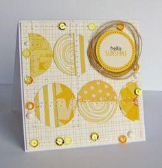 Bella Blvd sunshiny card! (via Bloglovin.com )