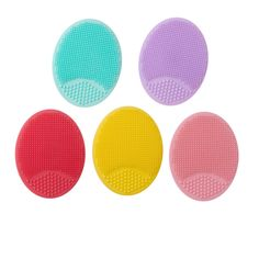 silicone ultra soft facial scrubber Silicone Face Brush, Exfoliate Face, Facial Cleansing Brush, Cartoon Design, Clean Face, Baby Design, Face Cleaning Brush