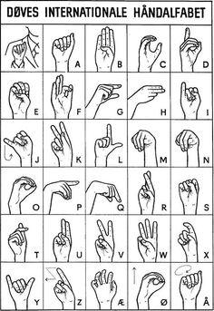 Alfabet, Tegn-til-tale