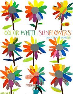 Color wheel art proj
