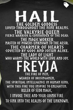 FREYJA-her necklace! !!