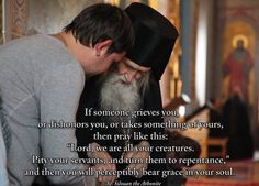 St. Silouan the Athonite. I really love this.