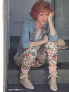 Molly Ringwald is the coolest.