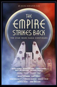 Empire strikes back print