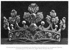 Masriera tiara of Queen Victoria Eugenie of Spain