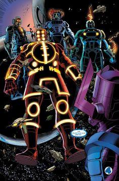 Top 10 Greatest Marvel Cosmic Villains of All-Time Marvel Dc Comics, Anime Comics, Comic Manga, Marvel Villains, Marvel Vs, Marvel Heroes, Marvel Comic Character, Comic Book Characters, Marvel Characters