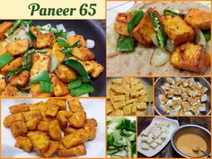 PANEER 65 Spicy Juicy Golden Nuggets of Pure Delight! A delicious all vegetarian spin on the classic!! Serve it is a quick appetizer or use as filling in soft rotis….to make yummy Frankies! E…