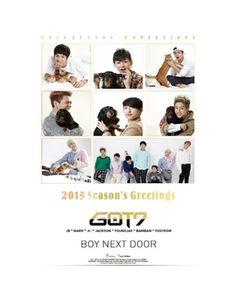 K2POP - 갓세븐 (GOT7) - 2015 SEASON GREETING [BOY NEXT DOOR]