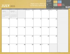 2016 Bible Verse Academic July-June Desk Blotter Calendar