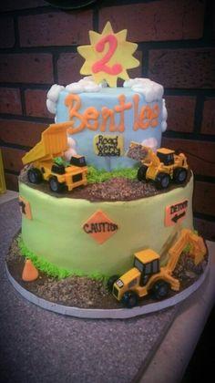 Construction Themed Birthday cake
