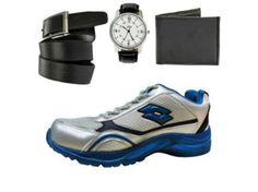 Combo of Lotto Running Shoes With FastFox Watch, Belt Wallet +Get Flat 8% CashBack https://www.gopaisa.com/shopclues-discounts-coupons-codes-offers