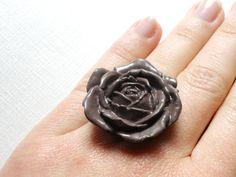 Vintage Flower Ring £5.00