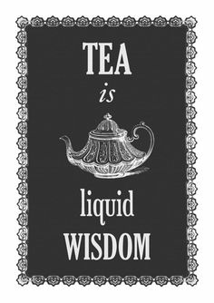 Yes, tea is definitely a value. =D