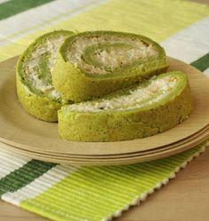 Gâteau roulé de brocolis, au poulet et fromage de chèvre - Recettes de cuisine Ôdélices
