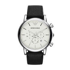 Emporio Armani AR1807 reloj cuarzo hombre, correa cuero negro por 141 € Los relojes de Armani son el accesorio perfecto para cualquier persona que aprecie la calidad y el lujo. #armani #chollos #moda #ofertas #Reloj