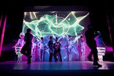"""Technologique by Sintonizart"" #visuales #danza #lásershow #láser #mapping #performance #lightshow"
