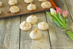 Simple Toasted Coconut Meringues
