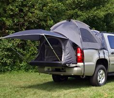 Truck tents. Awesome.