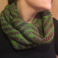 Ravelry: Project Gallery for Pine Bough Cowl pattern by Dianna Walla
