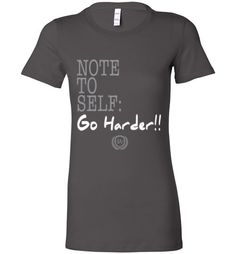 Stay Motivated with this awesome NTS Go Harder Lad... Get your NOW exclusively from http://impowerapparel.com/products/nts-go-harder-ladies-t-shirt?utm_campaign=social_autopilot&utm_source=pin&utm_medium=pin #motivation #inspiration #greatness