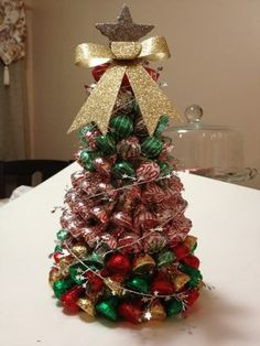 Just in Time For Christmas: Edible Christmas Tree